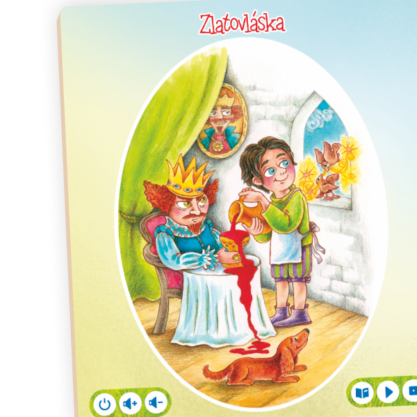 Albi Kúzelné čítanie - kniha Rozprávky na dobrú noc