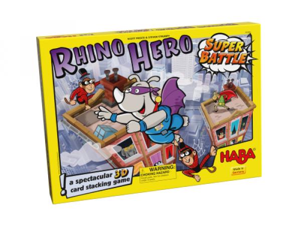 Rhino Hero - superboj