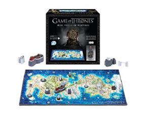4D Cityscape: 3D puzzle - Game Of Thrones Mini Westeros 3D Puzzle