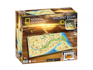 4D Cityscape - National Geographic: Staroveký Egypt Puzzle
