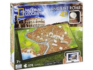 4D Cityscape - National Geographic: Starověký Řím Puzzle
