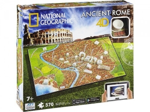 4D Cityscape - National Geographic: Staroveký Rím Puzzle