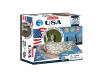 4D Cityscape - USA Puzzle