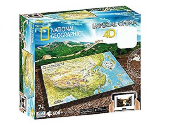 4D Cityscape - National Geographic: Staroveká Čína Puzzle