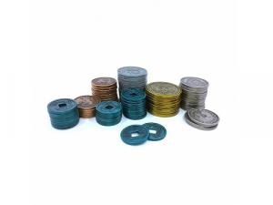 Scythe - kovové mince