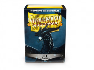 Sleeves Dragon Shield Standard Matte Jet - 100ks