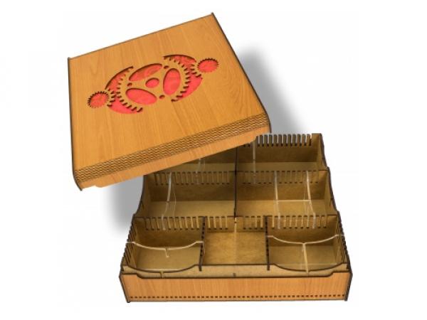 Card Crate - Gears