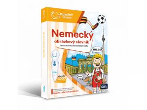 Albi Kúzelné čítanie - Nemecký obrázkový slovník