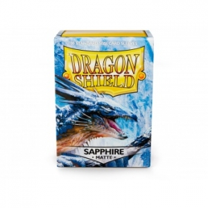 Sleeves Dragon Shield Standard - Matte Sapphire - 100ks