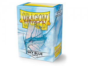 Sleeves Dragon Shield Standard - Matte Sky Blue - 100ks