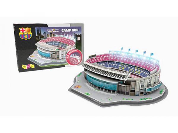 NANOSTAD LED: 3D puzzle - Nou Camp (Barcelona)