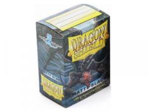 Sleeves Dragon Shield Standard - Matte Black - 100ks