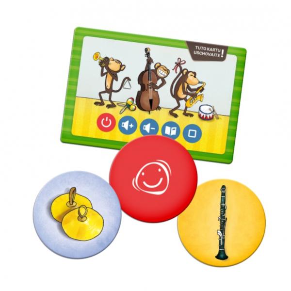 Albi Kúzelné čítanie - Pexeso hudobné nástroje