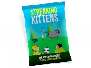 Streaking Kittens: Exploding Kittens Exp