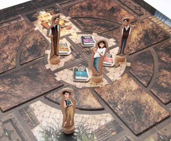 Tajomná knižnica (Mysterious Library)