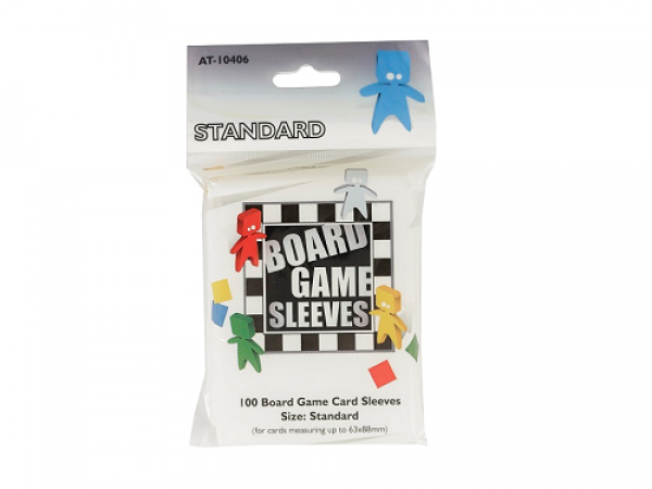 Board Game Sleeves - Standard Size (63x88mm) - 100 Pcs