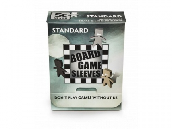 Board Game Sleeves - Non-Glare - Standard (63x88mm) - 50 Pcs