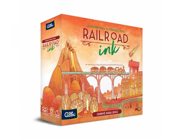 Railroad Ink - červená edícia
