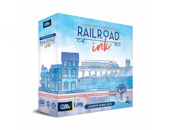 Railroad Ink - modrá edícia