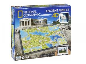 4D Cityscape - National Geographic: Staroveké Grécko Puzzle