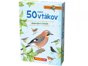 Expedícia príroda: 50 našich vtákov