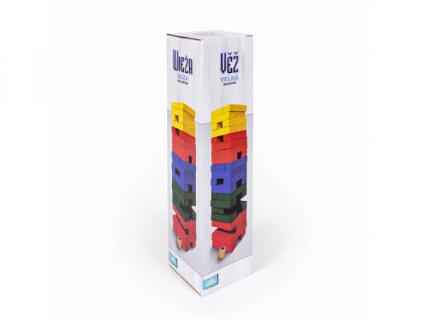 Veža veľká farebná s kockou