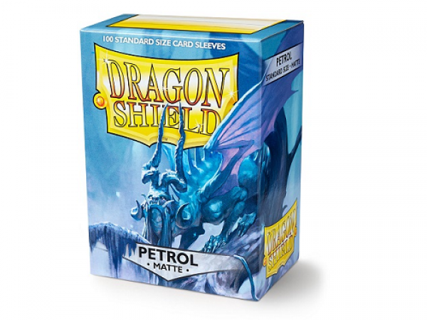 Sleeves Dragon Shield Standard - Matte Petrol - 100ks