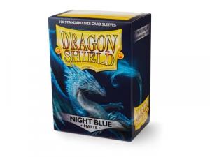 Sleeves Dragon Shield Standard - Matte Night Blue - 100ks