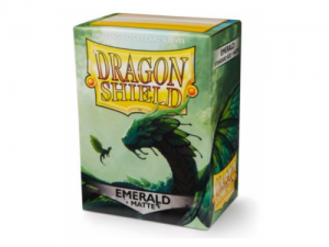 Sleeves Dragon Shield Standard - Matte Emerald - 100ks