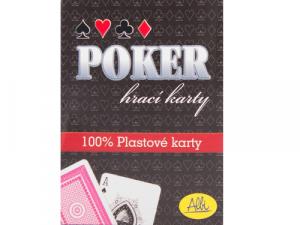 Poker karty - plastové