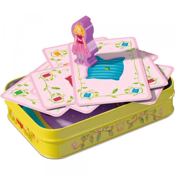 Princezná na hrášku - hra v plechovke