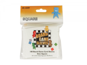 Board Games Sleeves - Original - Square (70x70mm) - 100 Pcs