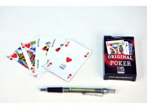 Poker karty - papierová krabička