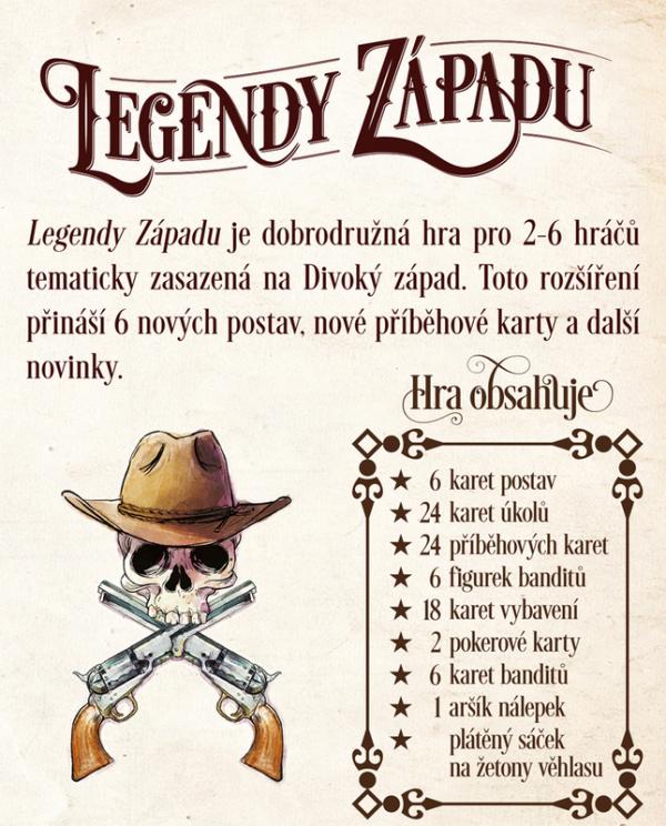 Legendy Západu: Hrst novinek