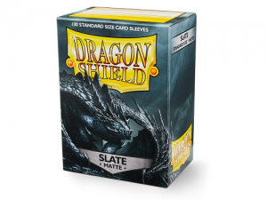 Sleeves Dragon Shield Standard - Matte Slate - 100ks