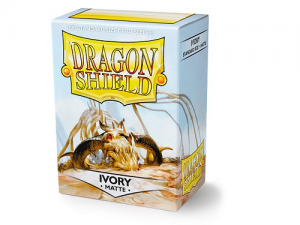 Sleeves Dragon Shield Standard - Matte Ivory - 100ks