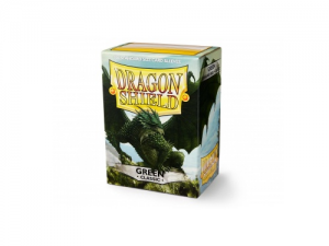 Sleeves Dragon Shield Standard - Green - 100ks