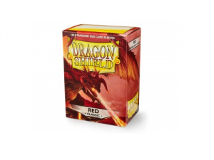 Sleeves Dragon Shield Standard - Red - 100ks