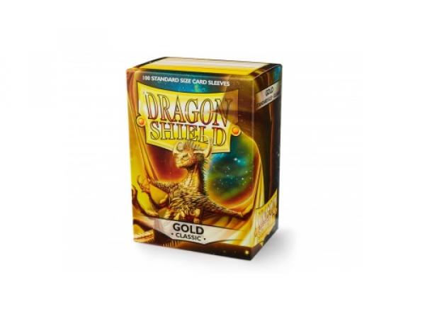 Sleeves Dragon Shield Standard - Gold - 100ks