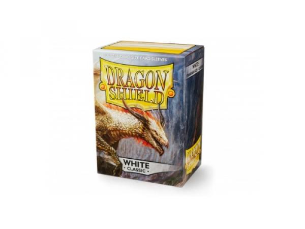 Sleeves Dragon Shield Standard - White - 100ks