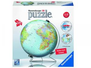 Glóbus 3D puzzle