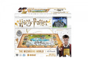 4D Cityscape - Harry Potter Wizarding World Puzzle