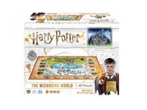 4D Cityscape - Harry Potter Wizarding World Puzzle
