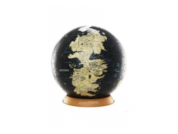 4D Cityscape - Game Of Thrones / The Unknown World 3D Globe