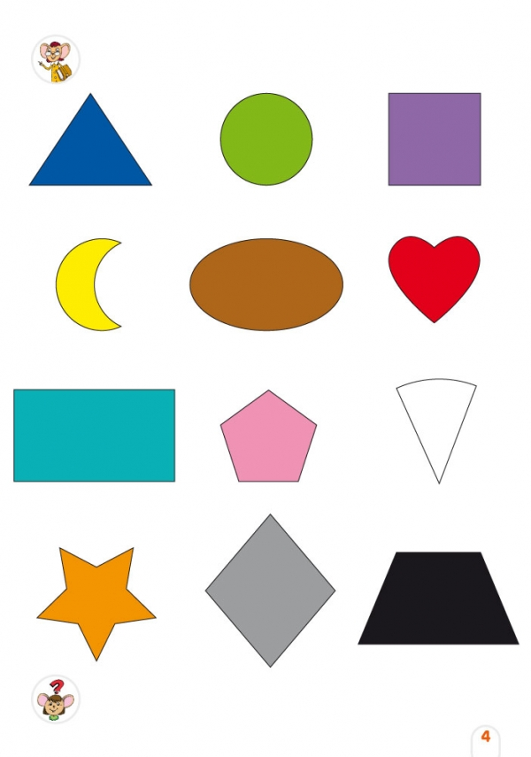 Geniuso - Tvary a farby (viacjazyčná hovoriaca kniha)