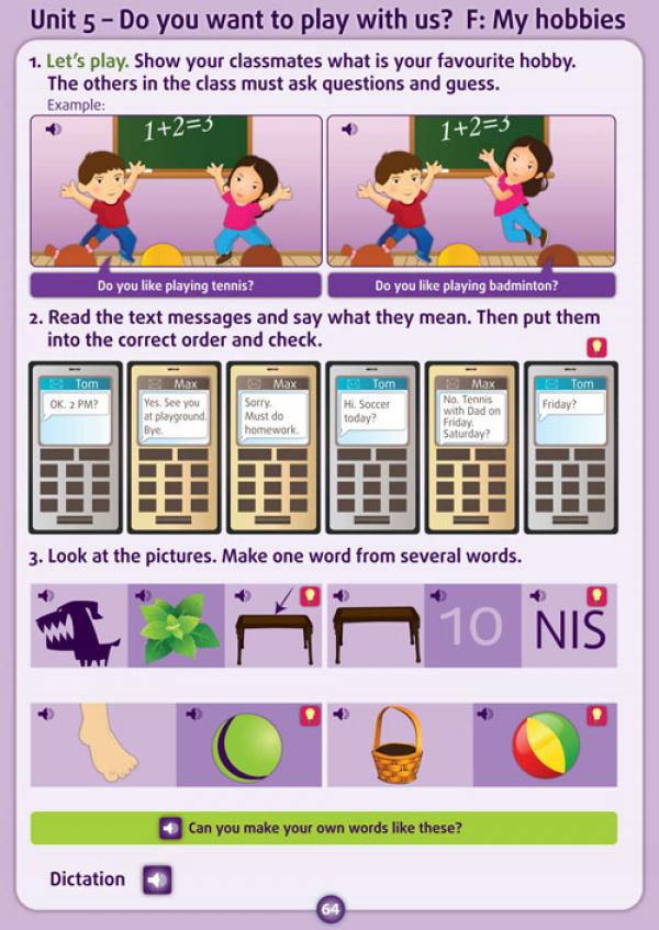 Geniuso - CLICK 4 Pupil's book