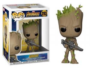 Funko Pop! Marvel – Avengers Infinity War – Groot w/Blaster