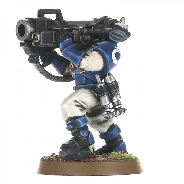 Warhammer 40000: Space Marines - Scouts with Sniper Rifles