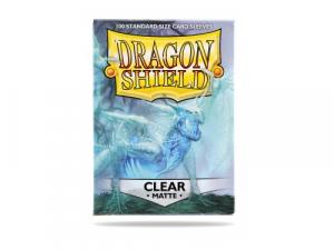 Sleeves Dragon Shield Standard - Matte Clear - 100ks