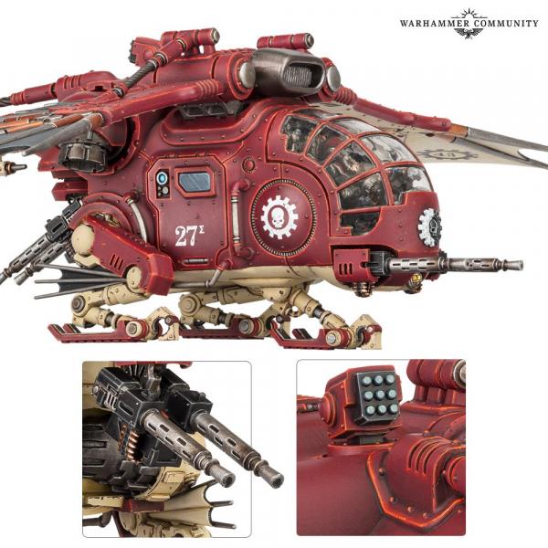 Warhammer 40000: Adeptus Mechanicus: Archaeopter
